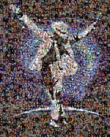 Michael Jackson Mosaic by Cornejo-Sanchez