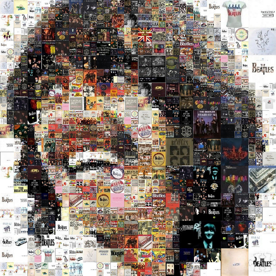George Harrison - Mosaic by Cornejo-Sanchez