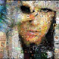 Lady Gaga Mosaic by Cornejo-Sanchez