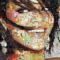Rihanna Mosaic by Cornejo-Sanchez