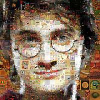 Harry Potter Mosaic by Cornejo-Sanchez