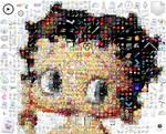 Betty Boop Mosaic
