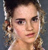 Emma Watson Mosaic by Cornejo-Sanchez