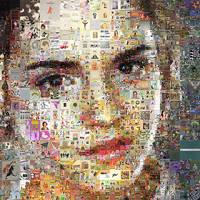 Emma Watson Mosaic 2 by Cornejo-Sanchez