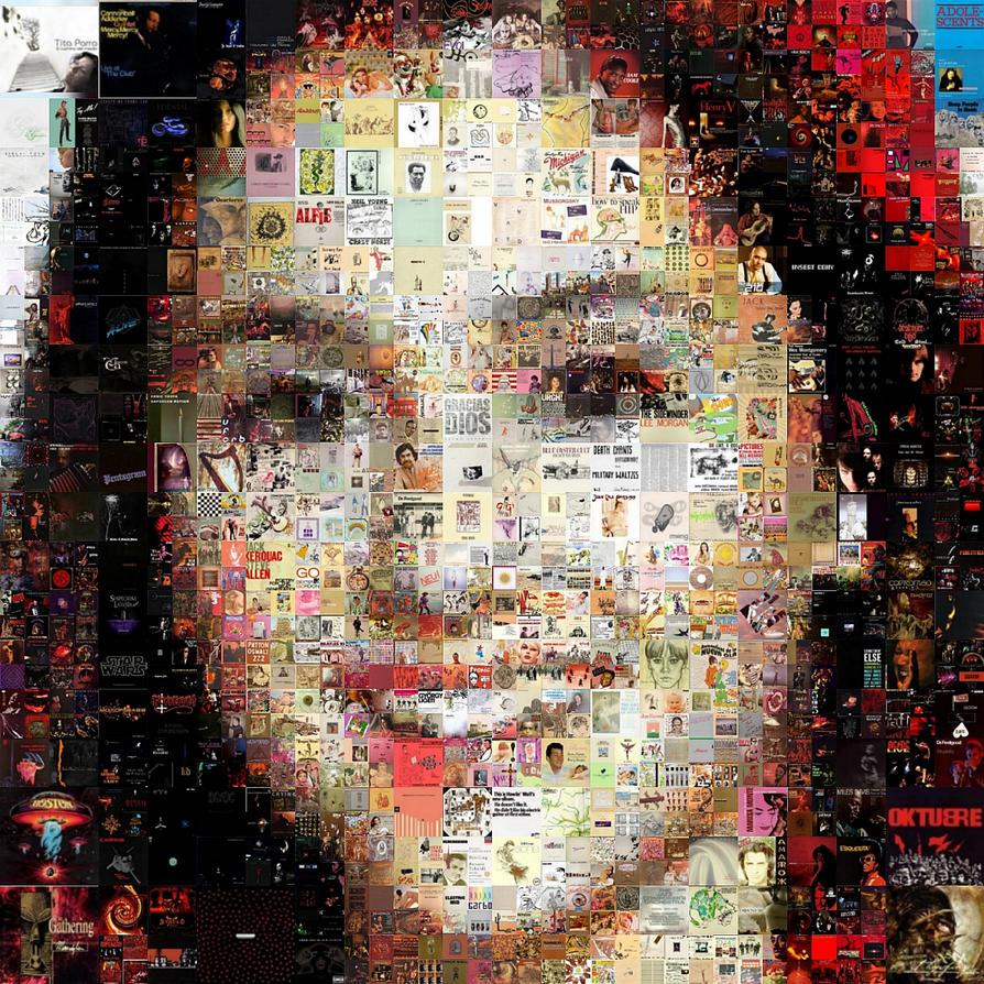 Ariana Grande Mosaic by