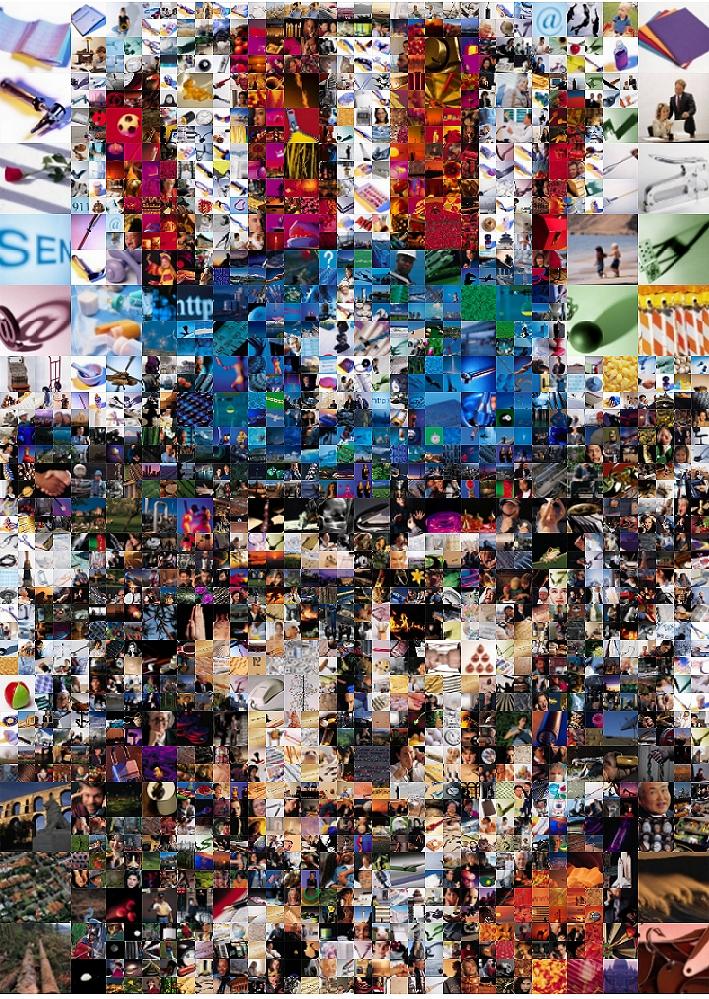 Uncle Sam Mosaic by Cornejo-Sanchez