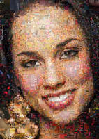 Alicia Keys Mosaic by Cornejo-Sanchez