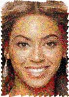 Beyonce Mosaic by Cornejo-Sanchez
