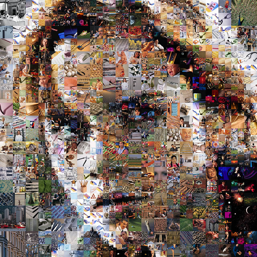 Emma Watson Mosaic 3 by Cornejo-Sanchez
