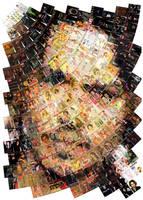 Johnny Depp Mosaic by Cornejo-Sanchez