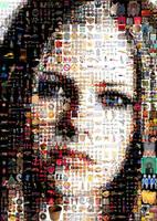 Avril Lavigne Mosaic by Cornejo-Sanchez