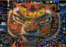 Tigress Mosaic by Cornejo-Sanchez