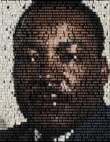 Martin Luther King Jr Mosaic by Cornejo-Sanchez