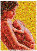 Breastfeeding Mosaic by Cornejo-Sanchez