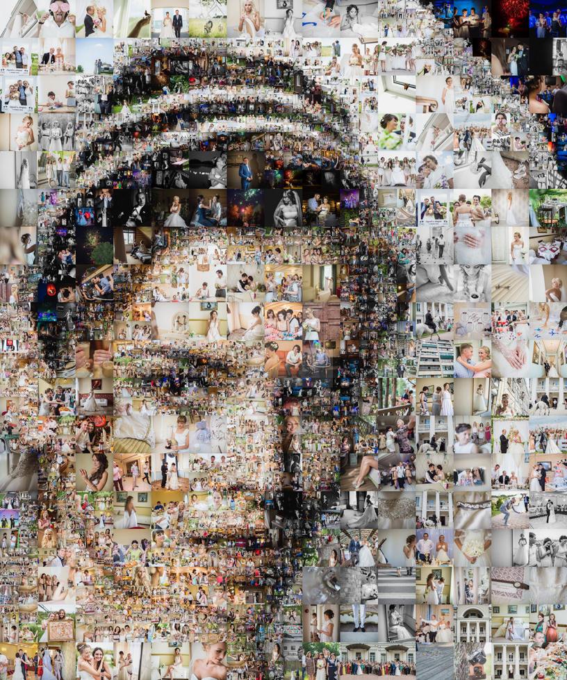 Wedding Mosaic by Cornejo-Sanchez