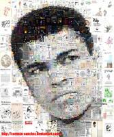 Muhammad Ali Mosaic by Cornejo-Sanchez