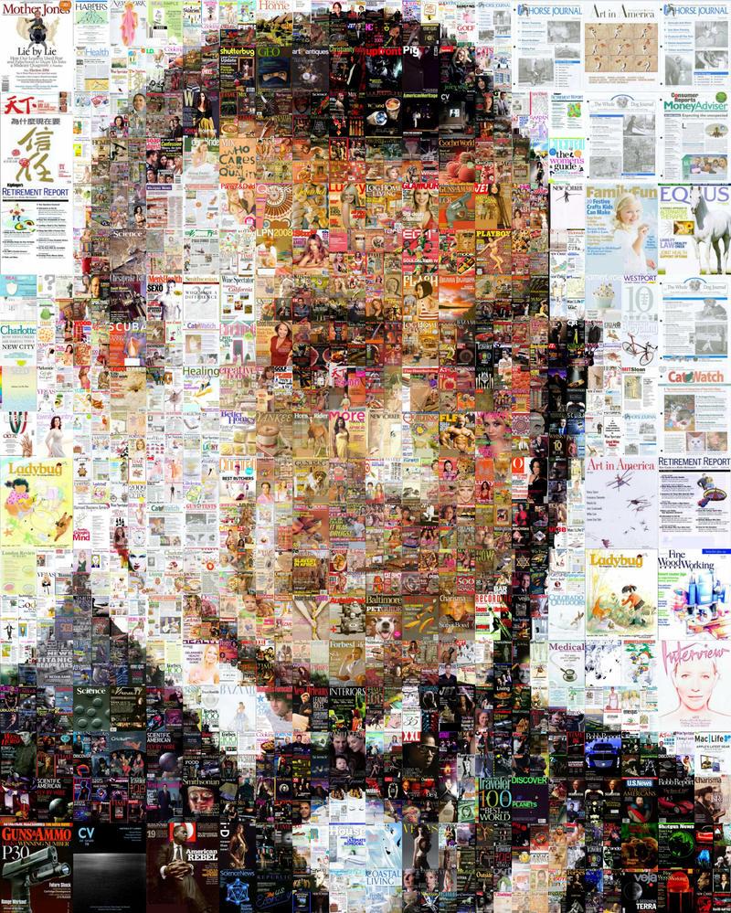 James Bond Mosaic - Sean Connery by Cornejo-Sanchez