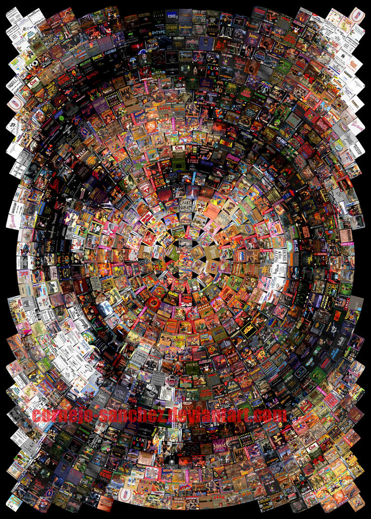 Shadow of the Tomb Raider Mosaic by Cornejo-Sanchez