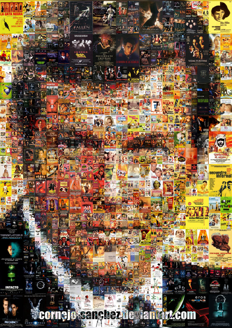 Roger Moore Mosaic by Cornejo-Sanchez