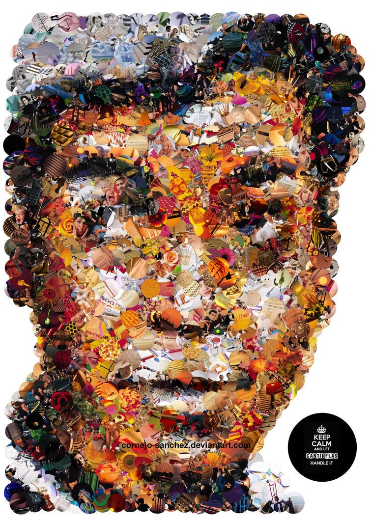 Cantinflas Mosaic by Cornejo-Sanchez