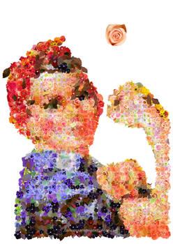 Girl Power Mosaic