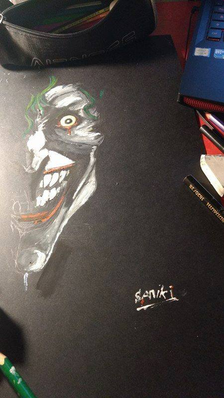 Joker - WIP by Samyki
