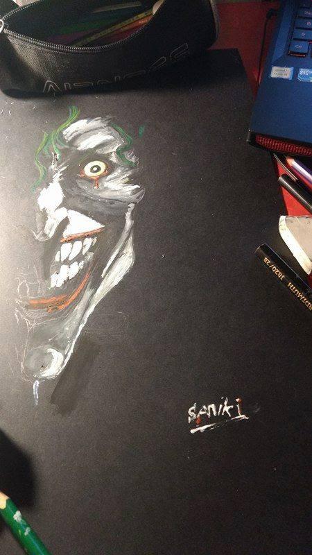 Joker - WIP by Samyki