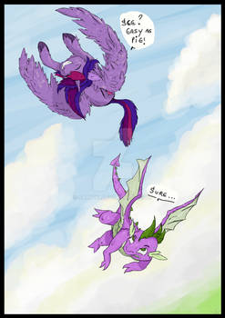 Fly little dragon!