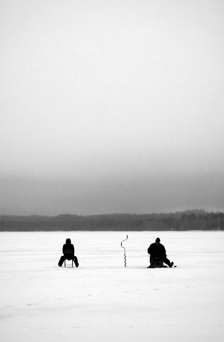 Ice Fishing by amf8