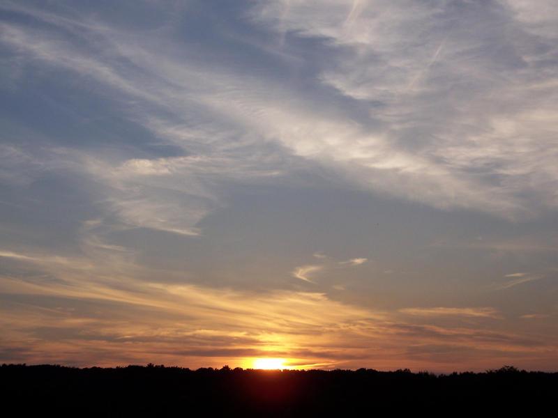 NY Sunset by megamandos