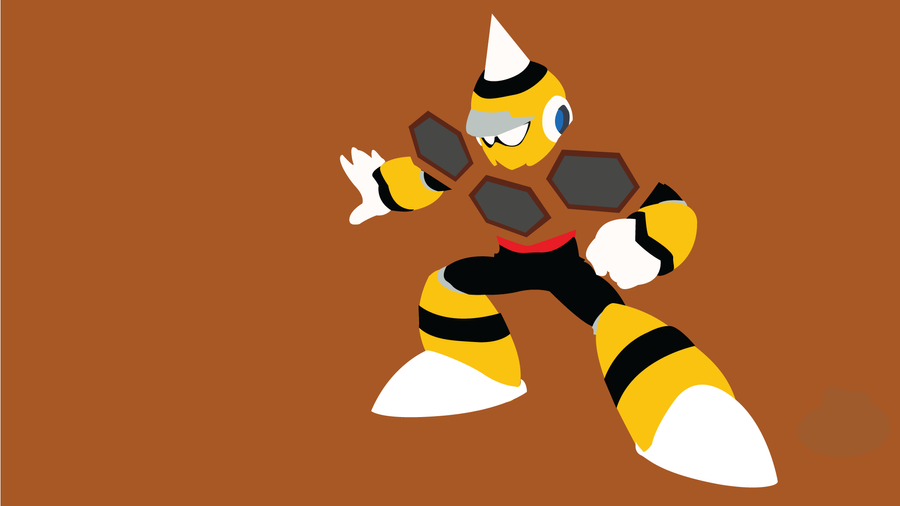 Hornet Man Minimalist Wallpaper by Oldhat104