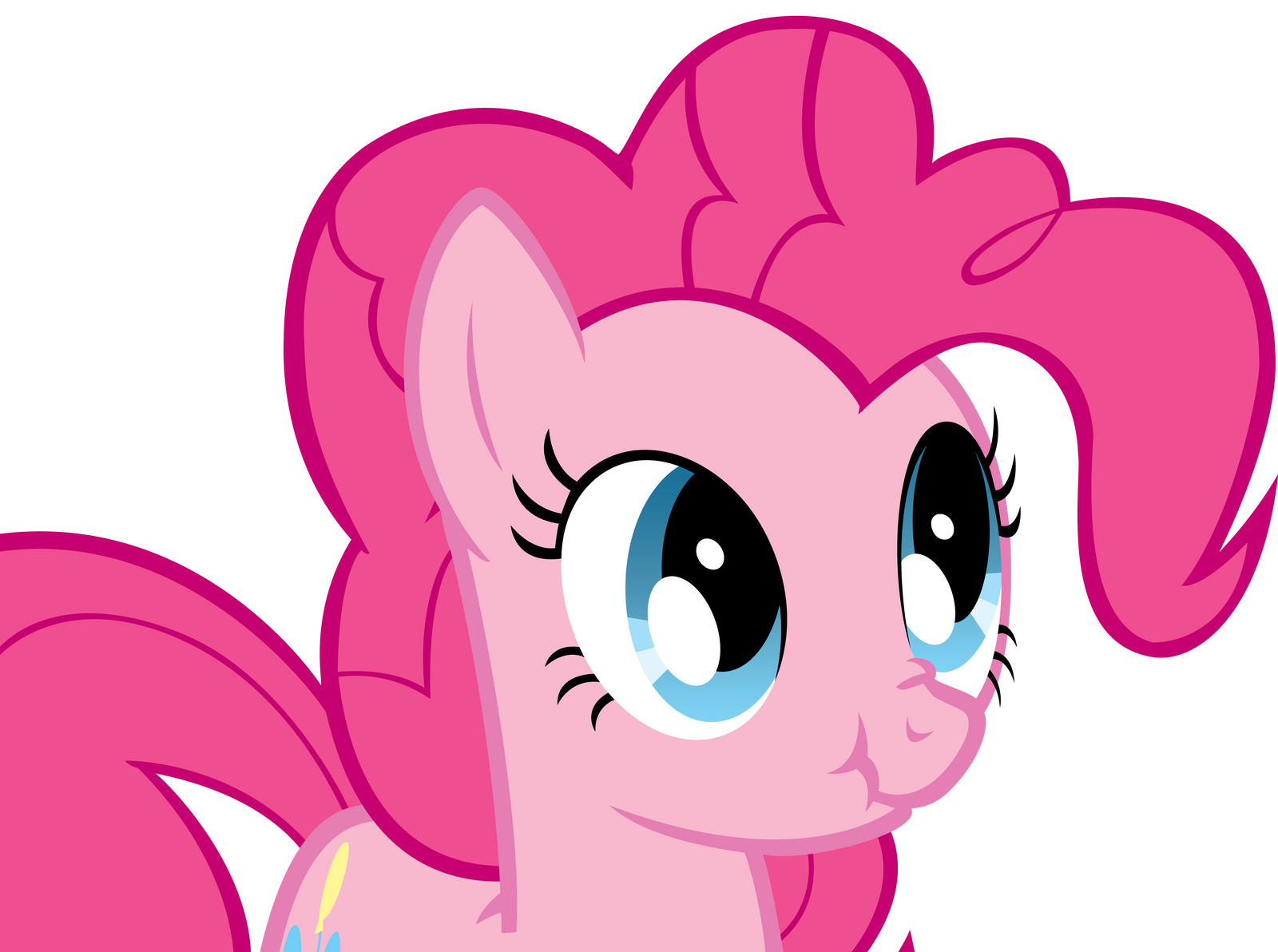 Pinkie Pie Scrunchy Face by Koeper