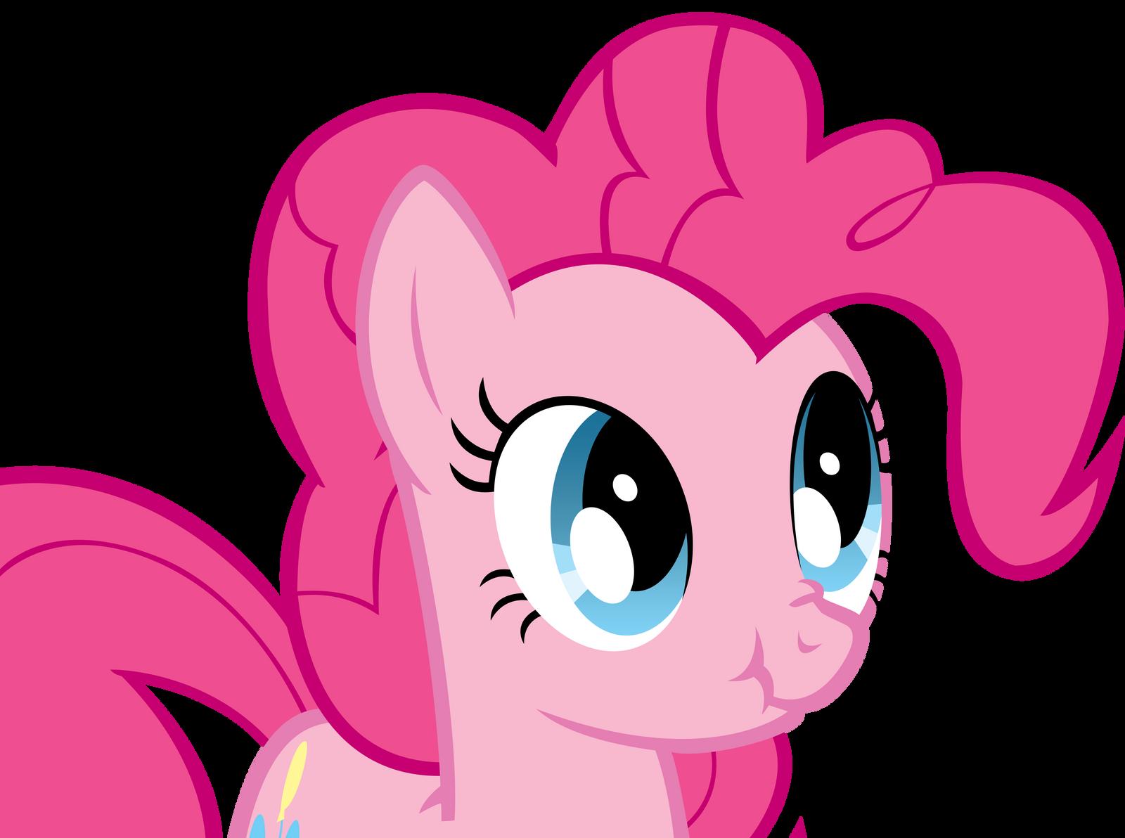Pinkie Pie Scrunchy Face by Koeper