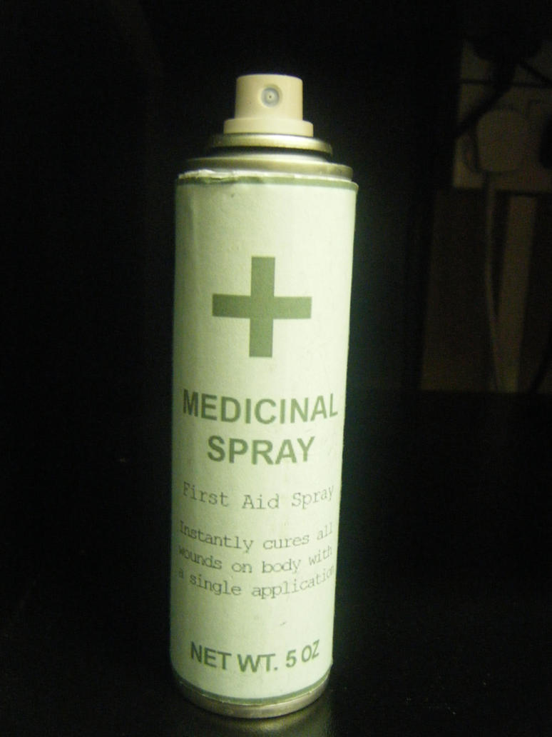 Resident Evil First Aid Spray by Leonie-Heartilly