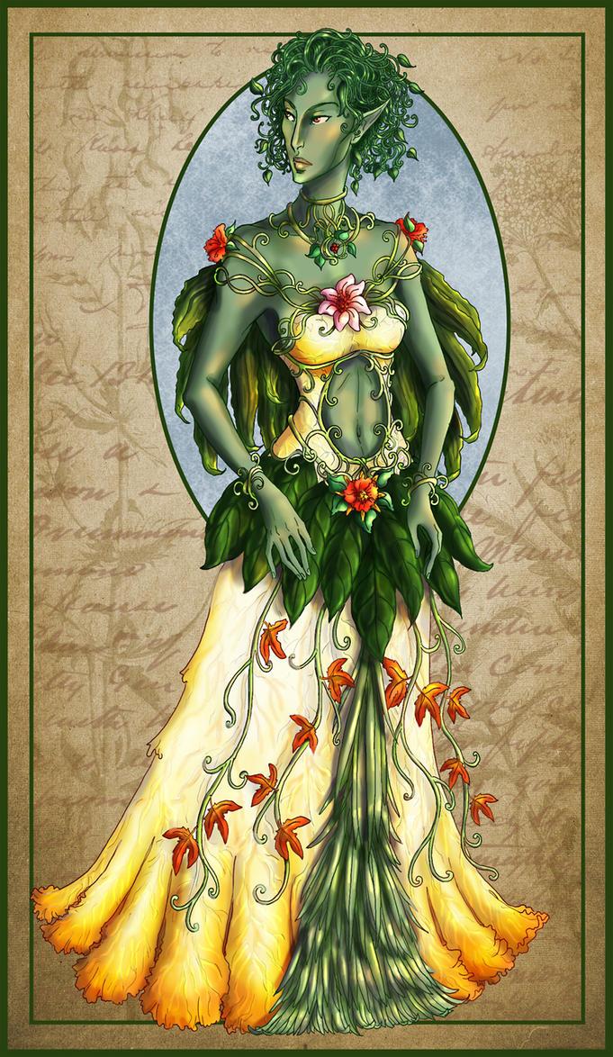 Faithless Flora by temiel