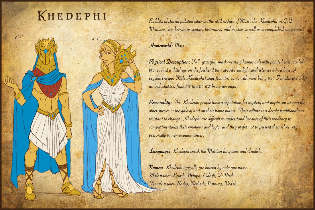 AA Species- Khedephi by temiel