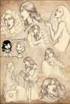 Vampire Dark Ages sketchdump