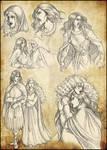Vampire Dark Ages sketchdump 3
