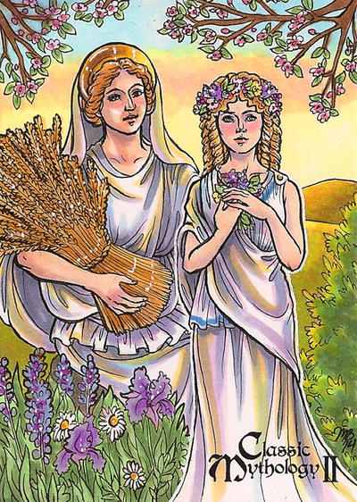 Classic Mythology II - Demeter and Persephone by temiel on ...