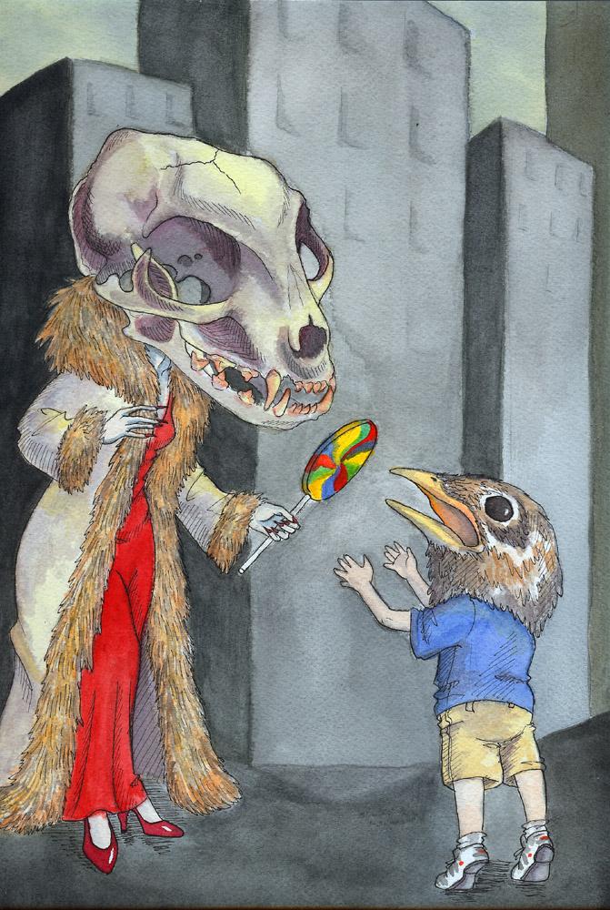 Predator and Prey by temiel