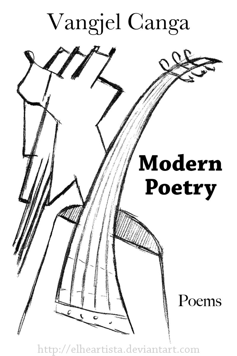 Poetry Book Cover Drawings ~ The singer bard of time poetry book cover by