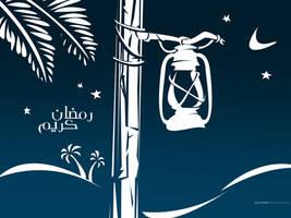 Ramadan Kareem - Wallpaper by Khaloodies