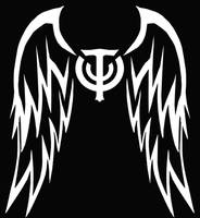 T-Shirt Skyforge Submission 3 logo BACK Wings  by KingFirejet