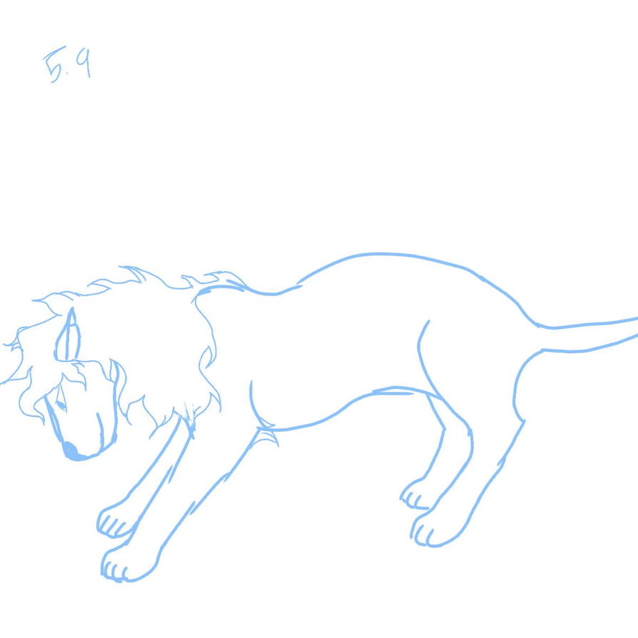 Lion WIP by Equestriangirl21