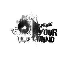 Speak your mind by whuffe