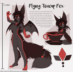 Spanish Chocolate Flying Teacup Fox Adopt [OPEN]