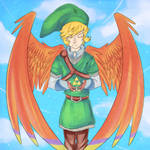 Link Skyward Triforce
