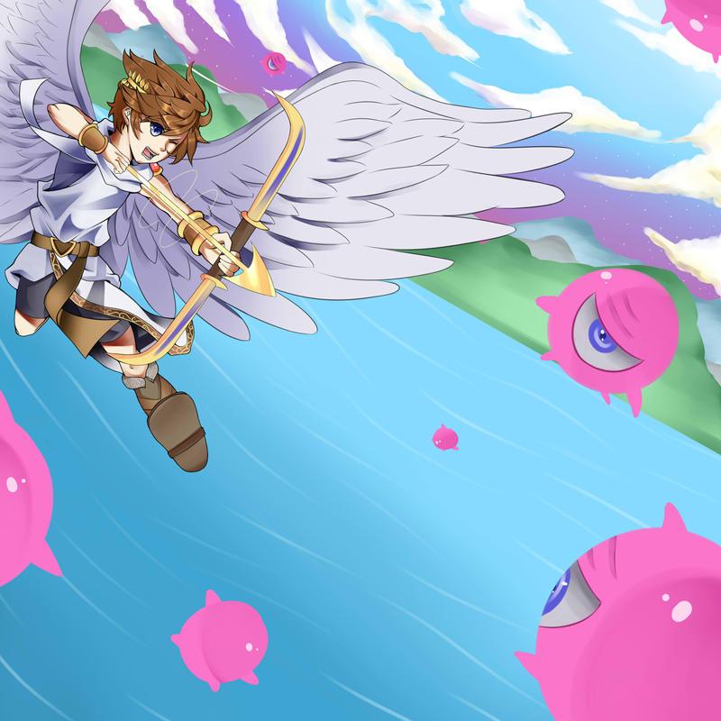 Kid Icarus by Momokoi