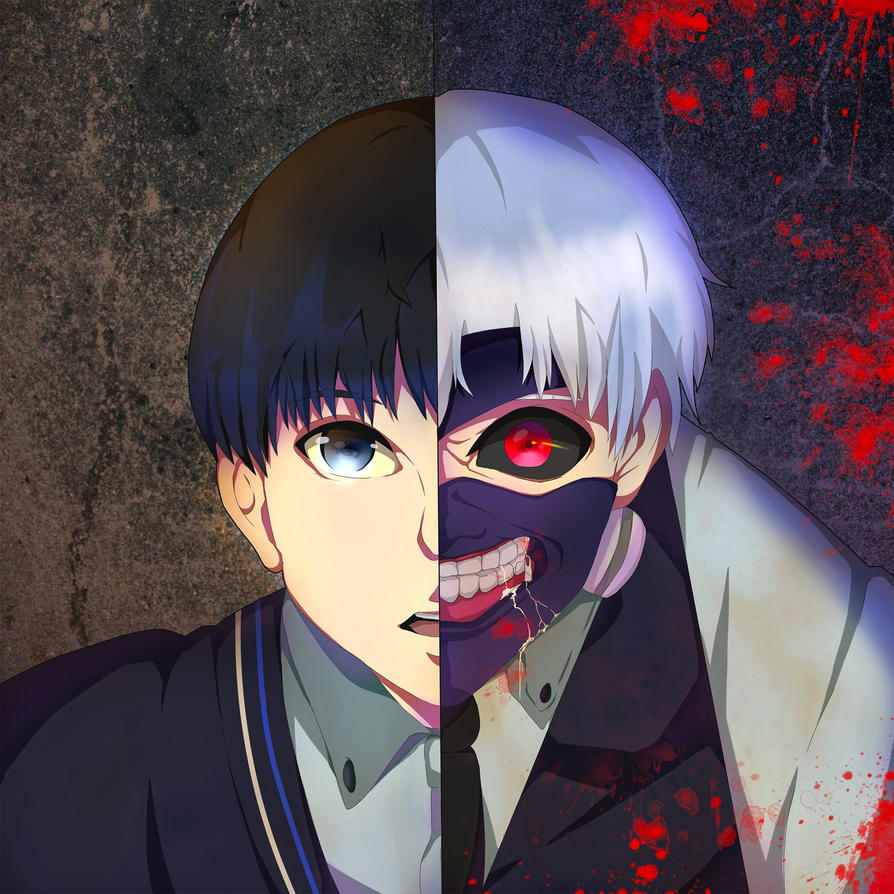 Kaneki // Ghoul by Momokoi