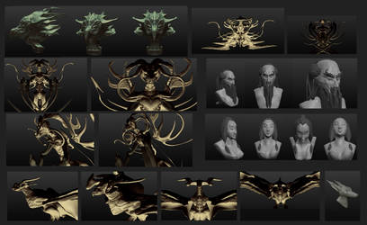 playing with sculptrist by NerezaWorks